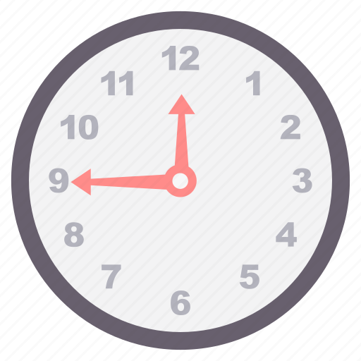 clock, duration, time, timer, wait, wall, watch icon
