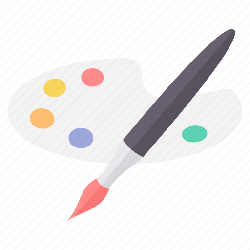 brush, design, draw, drawing, paint, painting, tool icon