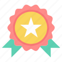 badge, star, achievement, bookmark, favorite, favourite