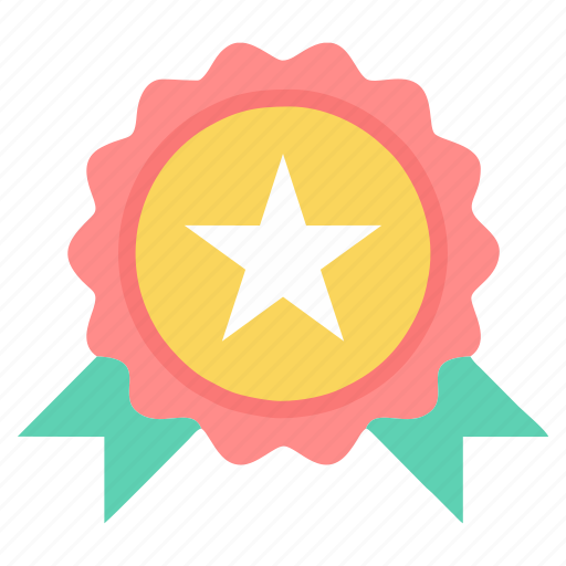 achievement, badge, bookmark, favorite, favourite, star icon