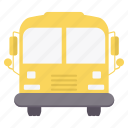 bus, education, school, transport, transportation, van, vehicle icon