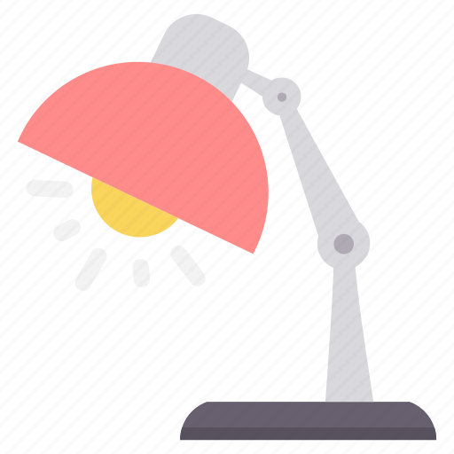 bulb, creative, desk, idea, lamp, light, study icon