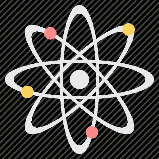 atom, electron, molecular, molecule, science icon