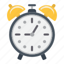 alarm, clock, deadline, office, reminder, time, watch icon
