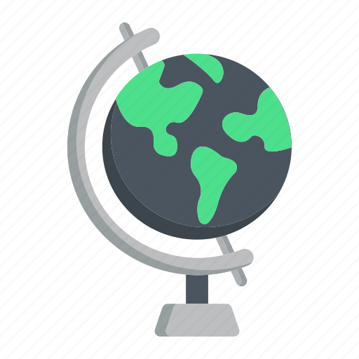 earth, education, geography, globe, map, travel, world icon