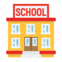 architecture, building, college, education, learn, school, teach icon