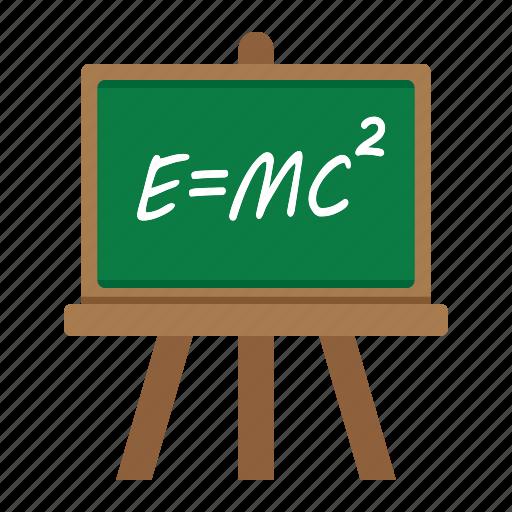 blackboard, board, chalkboard, classroom, education, frame, school icon