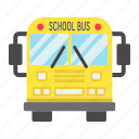 auto, bus, education, school, transport, transportation, vehicle icon