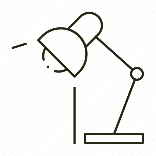 light, line, read icon