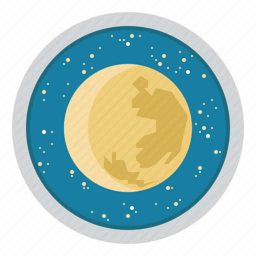 astronomy, education, moon, science, space, stars, telescope icon