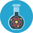 science, education, vitro, atoms, flask