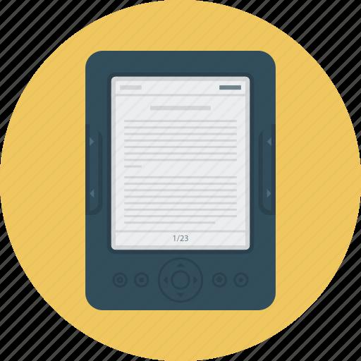 ebook, education, reading, science icon