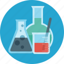 chemistry, education, flask, lab, laboratory, science, tube icon