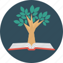 education, tree, knowledge, science, book