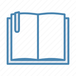 book, bookmark, learning, reading, training icon