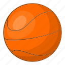 ball, basket, basketball, cartoon, game, illustration, outdoor icon