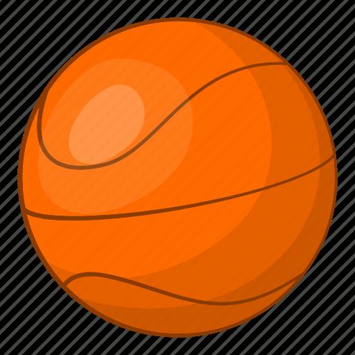 Ball, basket, basketball, cartoon, game, illustration, outdoor icon - Download on Iconfinder
