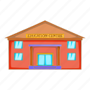 architecture, building, cartoon, centre, education, object, sign icon