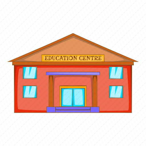 Architecture, building, cartoon, centre, education, object, sign icon - Download on Iconfinder