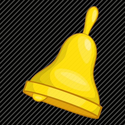 alarm, bell, cartoon, illustration, object, ring, sign icon