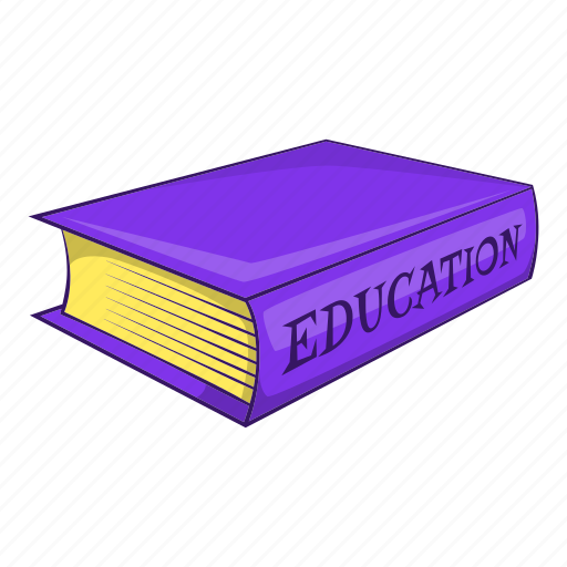 Book, cartoon, education, library, object, paper, sign icon - Download on Iconfinder
