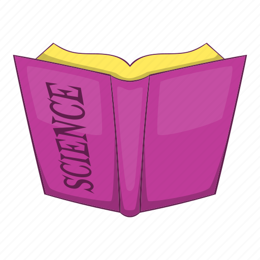 Book, cartoon, library, object, paper, science, sign icon - Download on Iconfinder