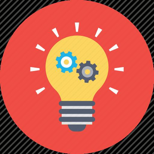 bulb idea, business idea, idea, innovation, solution icon