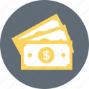 banknote, currency, economy, paper money, paper note icon