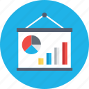 analysis, business analysis, business graph, graphic presentation, statistics icon