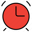 alarm, clock, education, school, time icon