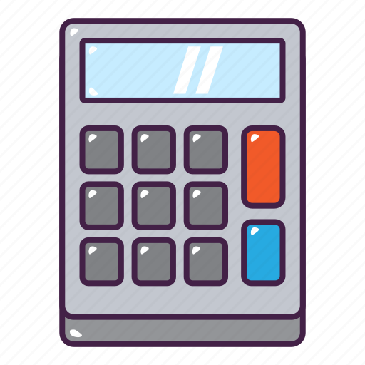 calculator, count, education, math, tool icon