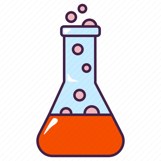education, liquid, research, science, tube icon