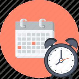 calendar, class, education, flat design, learning, schedule, school icon