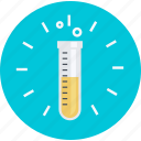 discover, education, flat design, laboratory, research, round, science icon