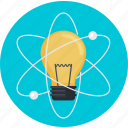 education, experiment, flat design, idea, inovation, research, science icon