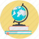 book, education, explore, flat design, knowledge, learning, school icon