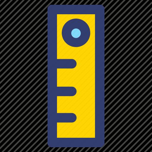 Education, filled, line, ruler icon - Download on Iconfinder