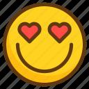 avatar, emoji, emoticon, emotion, love, smile, smiley icon