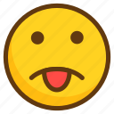 avatar, emoji, emoticon, emotion, smile, smiley, tongue