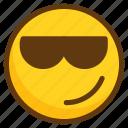 avatar, confident, emoji, emoticon, emotion, smiley icon
