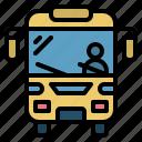schoolbus, bus, travel, vehicle, transport