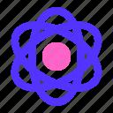 atom, education, physic icon