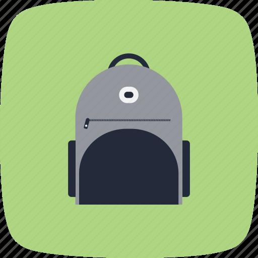 bag, college, education, school, student icon