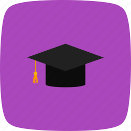 degree, diploma, graduation, graduation cap icon