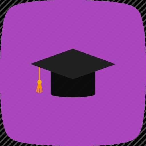 degree, graduation, graduation cap icon