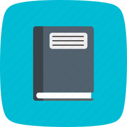 copybook, file, notebook, notepad, pad icon