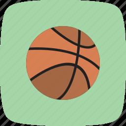 ball, basketball, game, play, sports icon