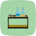 chemistry, equipment, flask icon
