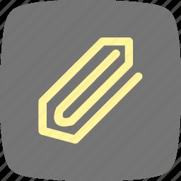 attachment, education, pin, tag icon