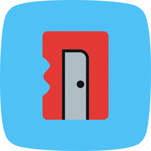 sharpener, stationary, tool icon